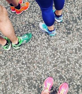 running in EDINBURGH