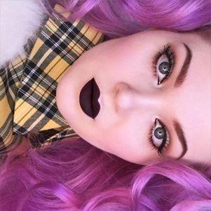 //RAVEN// photo credit: https://www.limecrime.com/lipsticks/velvetines-matte-lipstick/raven-darkest-purple?pixlee_album_photo_id=139216505